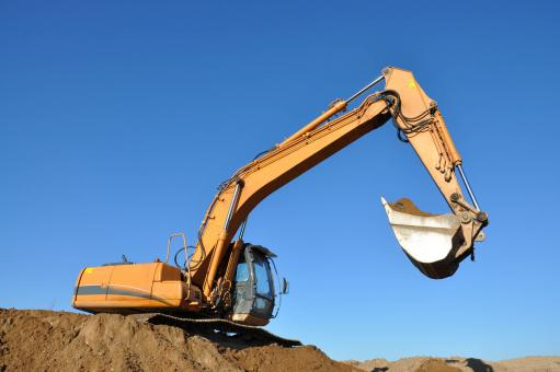 Free Stock Photo of Excavator
