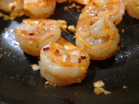 Free Stock Photo of Cooking shrimp