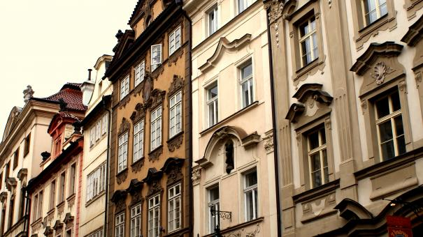 Free Stock Photo of House in Prague 2