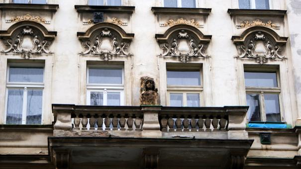 Free Stock Photo of Prague Balcony