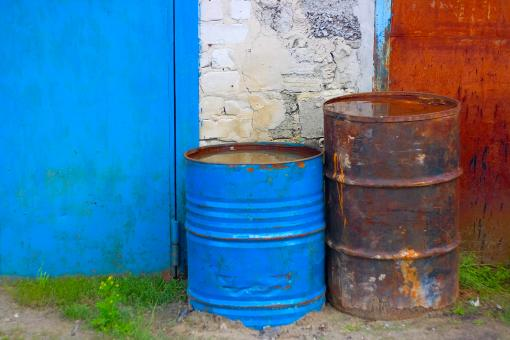 Free Stock Photo of old barrels