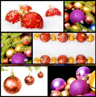 Free Stock Photo of christmas decorations