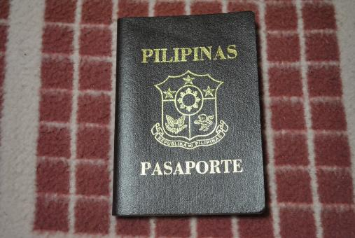Free Stock Photo of Philippine Passport