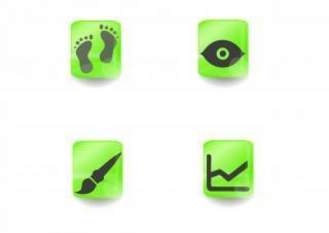 Free Stock Photo of Green icons