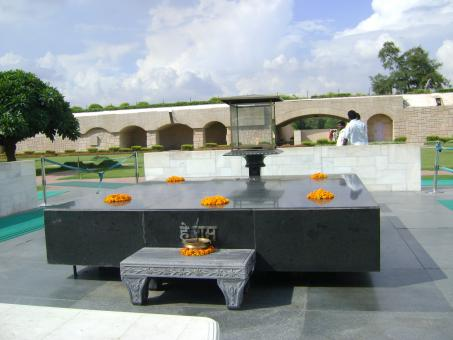Free Stock Photo of Raj ghat