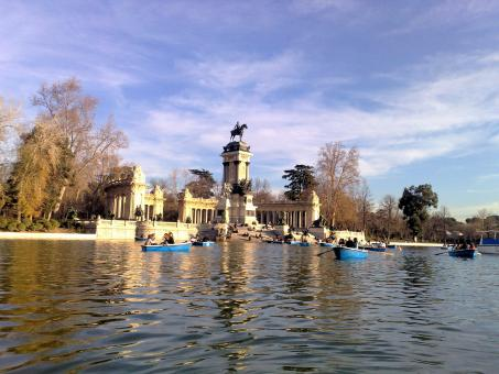 Free Stock Photo of Parque del Retiro, Madrid, Spain