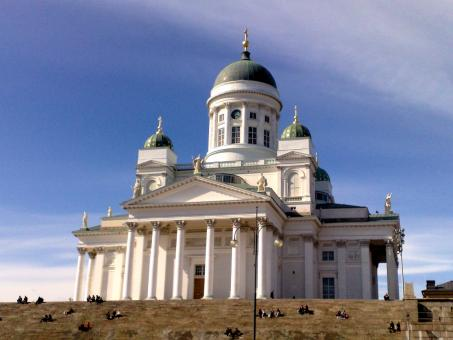 Free Stock Photo of Cathedral of Helsinki