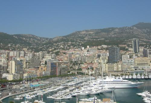 Free Stock Photo of View of the city of Monaco