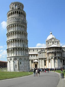 Free Stock Photo of Duomo and Pisa Tower