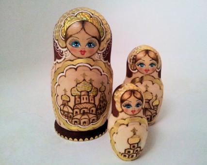 Free Stock Photo of Matryoshka dolls