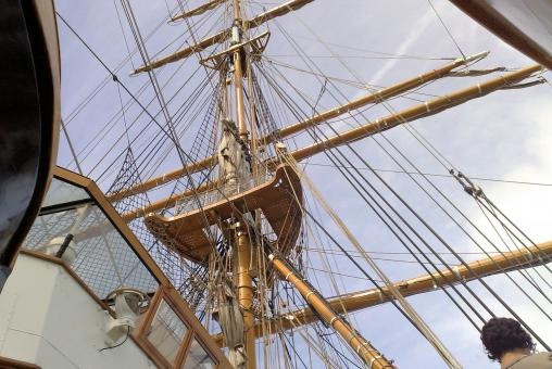 Free Stock Photo of Detail on sailer