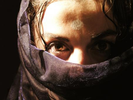 Free Stock Photo of Arab woman with veil