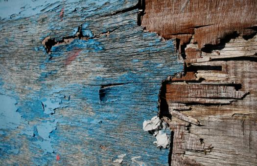 Free Stock Photo of Old painted wood texture