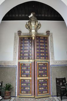 Free Stock Photo of Decorative arabic doors