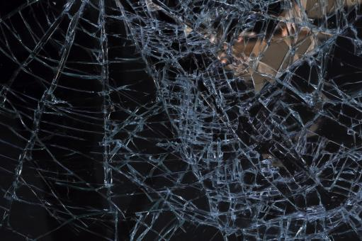 Free Stock Photo of Broken Glass