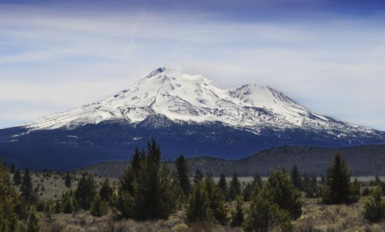Free Stock Photo of Mountain shasta
