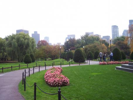 Free Stock Photo of Park in Boston