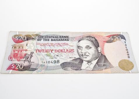 Free Stock Photo of Bahamian Money