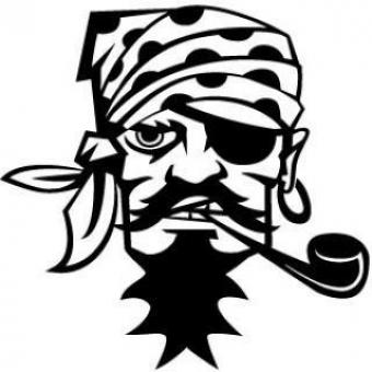 Free Stock Photo of Pirate Vector Image