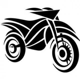 Free Stock Photo of Motorbike Illustration
