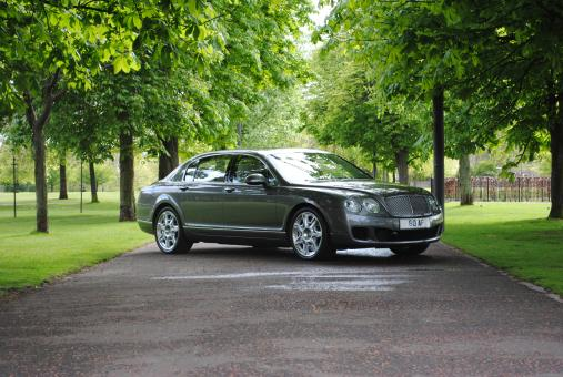 Free Stock Photo of Bentley Flying Spur