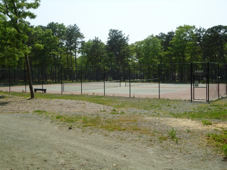 Free Stock Photo of Outside Tennis Court