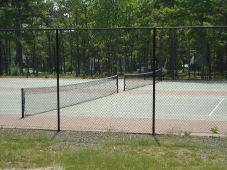 Free Stock Photo of Outdoor Tennis Court