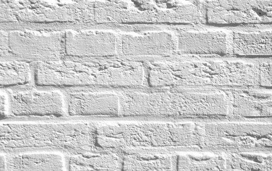Free Stock Photo of White bricks texture