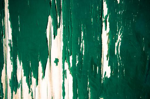 Free Stock Photo of painted wood green