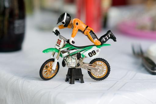 Free Stock Photo of Toy Motorbike