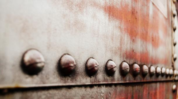 Free Stock Photo of Train Rivets (semisarah.com)