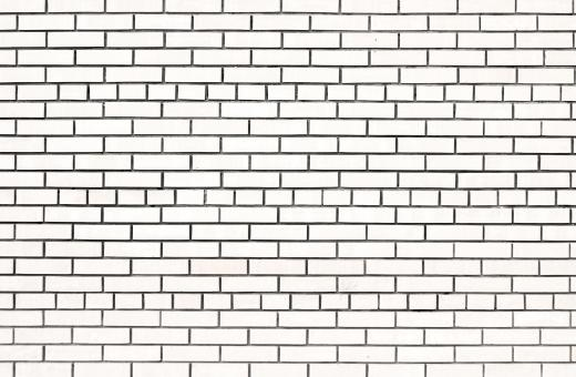 Free Stock Photo of White Brick Wall