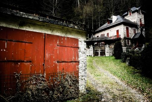 Free Stock Photo of Old french house