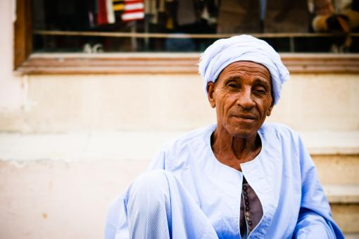 Free Stock Photo of Arabic old man