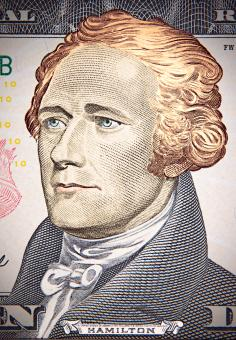 Free Stock Photo of Portrait of Hamilton