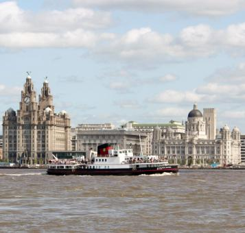 Free Stock Photo of Ferry Across The Mersey