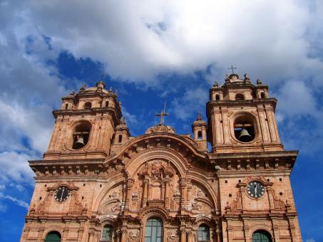 Free Stock Photo of Cusco Cathedral