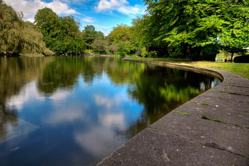 Free Stock Photo of Saint Stephen's Green - HDR