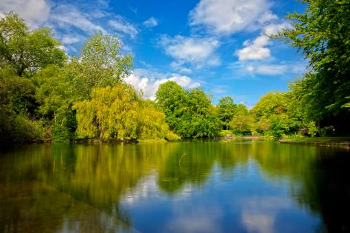 Free Stock Photo of Saint Stephens Green - HDR
