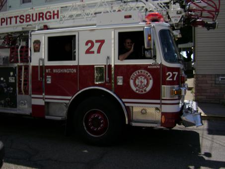 Free Stock Photo of Pittsburgh Fire Engine
