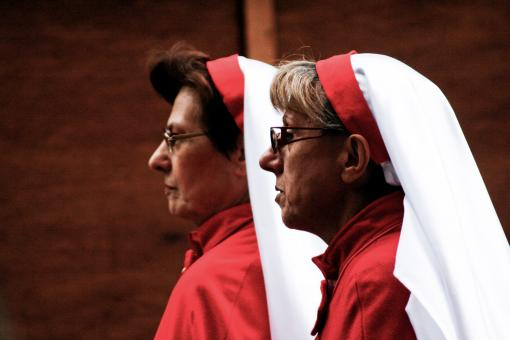 Free Stock Photo of Two nuns