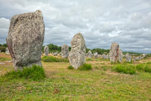 Free Stock Photo of Carnac Stones - HDR