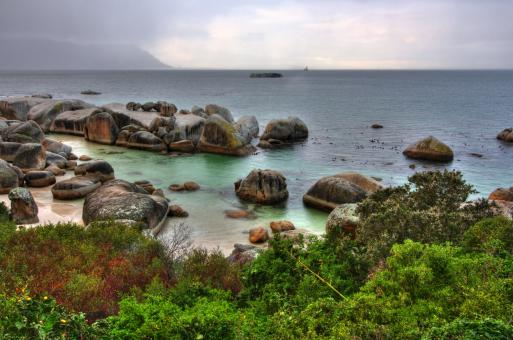 Free Stock Photo of Boulders Beach - HDR