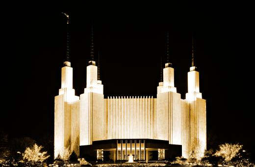 Free Stock Photo of Mormon Temple