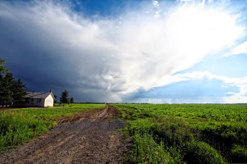 Free Stock Photo of Rural Quebec Landscape