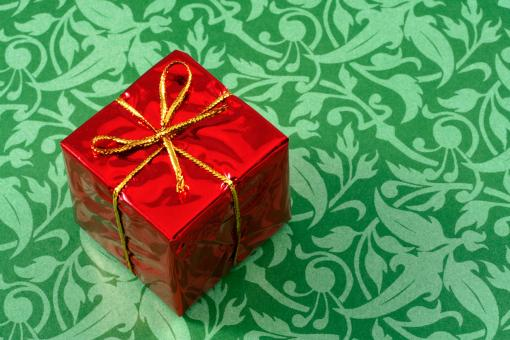 Free Stock Photo of Gift Box Close-up