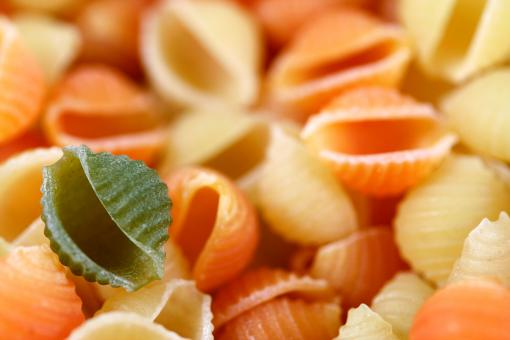 Free Stock Photo of Odd Pasta Out