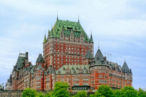 Free Stock Photo of Chateau Frontenac