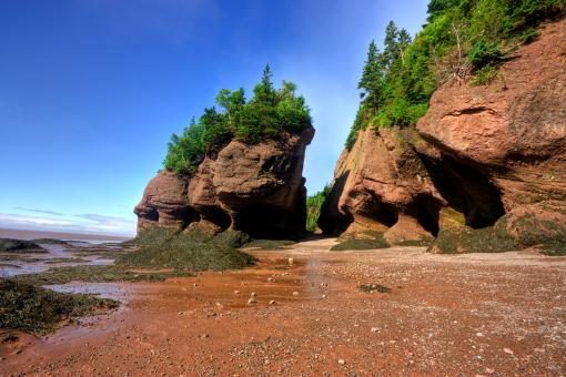 Free Stock Photo of Flowerpot Rocks - HDR