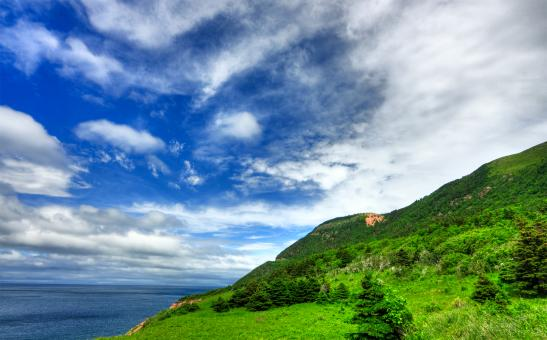 Free Stock Photo of Cabot Trail - HDR